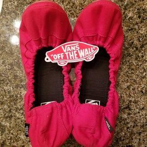 Van's Canvas Ballet Slippers